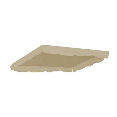 Toile pour Balancelle Couverture Supérieure Imperméable De Rechange D'auvent De Balançoire pour La Cour Extérieure De Porche De Jardin