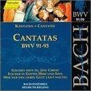 Sacred Cantatas Bwv 91-93 by J.S. Bach