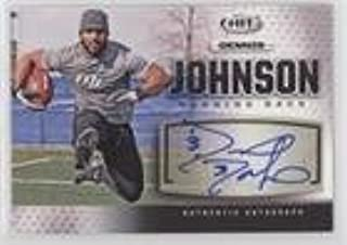 Dennis Johnson (Football Card) 2013 SAGE Hit - Autographs - Silver #A33