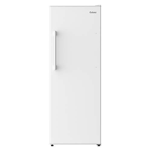 Galanz GLF11UWEA16 Convertible Freezer/Fridge, Electronic Temperature Control, 11 Cu.Ft, White
