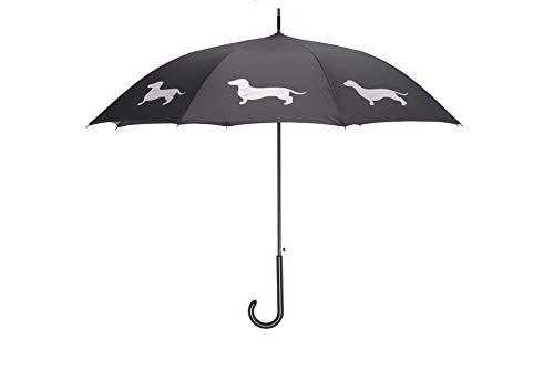 Umbrella Company Unisex-Adult Dachshund, Black/White