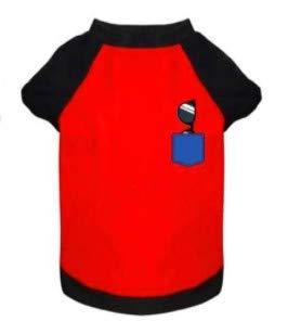 Abrigo para Perros PEQUEÑOS en Forma de Camiseta Deportiva