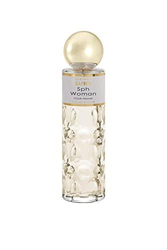 PARFUMS SAPHIR Sph Woman - Eau de Parfum con Vaporizador para Mujer, 200 Ml