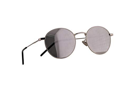Saint Laurent SL250 Occhiali da sole Argento con Lenti a Specchio Argento 52mm 003 SL 250