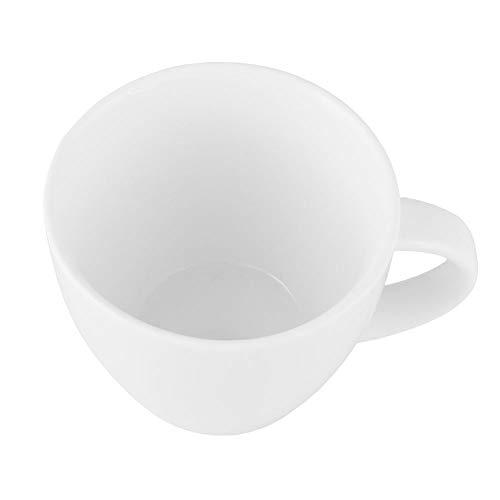 Unbekannt Ambition Welle Saladier 18 cm, Porcelaine, Blanc, 18 x 18 x 6,5 cm