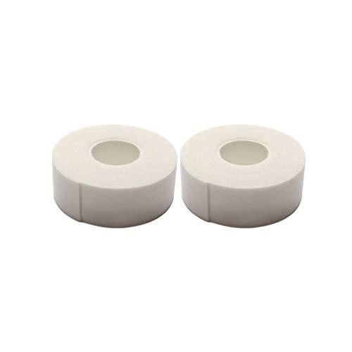 Lurrose 2 Stücke Wimpernschaum Klebeband Wimpernbänder Wimpernverlängerung Isolation Patches für Make-Up Werkzeuge (Weiß)