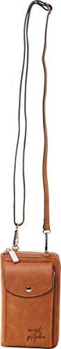 SWEET&PSYCHO GELDBÖRSE/Pochette/Handy-Fach 6006/20/0 SWEETNATUR 18 x 4 x 11 cm (Maße ohne Umhänge Gurt)