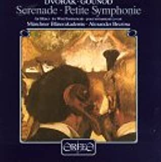 Dvorak: Serenade For Winds / Gounod: Petite Symphony