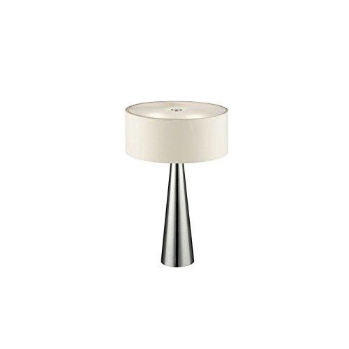 Fan Europe Lampe de table avec corps G9, 28 W, Blanc, 40 x 25