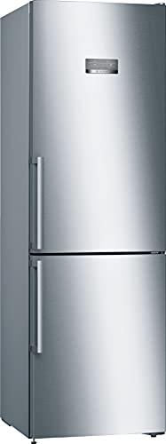 Bosch Elettrodomestici KGN367IDQ Serie 4, Frigo-congelatore combinato da libero posizionamento, 186 x 60 cm, inox-easyclean