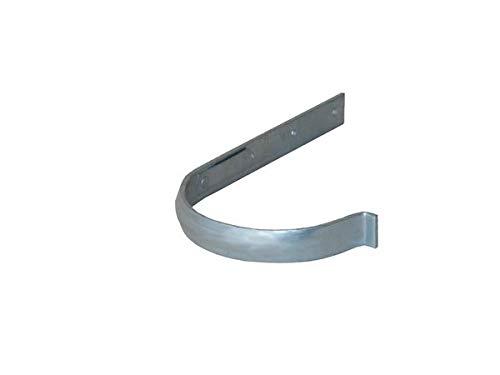 LempHirz: N-F-K ® Rinnenhalter halbrund 8 tlg. 250 mm - Mit Sicke | Feder | Formsicher & exakte Passgenauigkeit