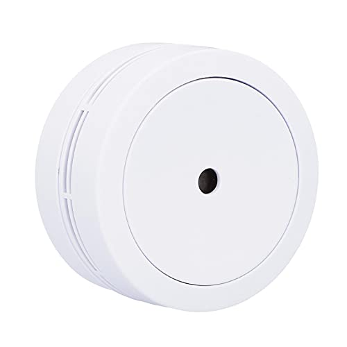 UNITEC Mini Rauchmelder | VdS 3131 | 10 Jahre | 70 mm Durchmesser | DIN EN 14604