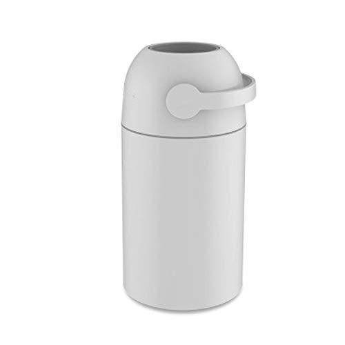 Cttiuliljt Sellado de Basura Desodorante Can, eliminación de residuos de contenedores, Durable de plástico ABS, Sella fuertemente, Fácil Instalación Hardware Incluido (Color : Gray)