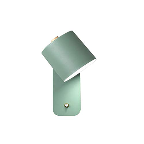 DQM De moderne eenvoud Macaron heeft het draaibare licht voor slaapkamer, wandlamp, bedlampje voor slaapkamer, kan veel worden gebruikt.