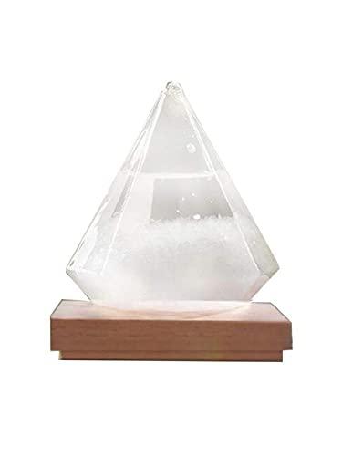 Home-Decor Bottle Barometer Monitor Predictor Storm Glass Previsioni del Tempo Droplet per la Decorazione della casa e dell ufficio