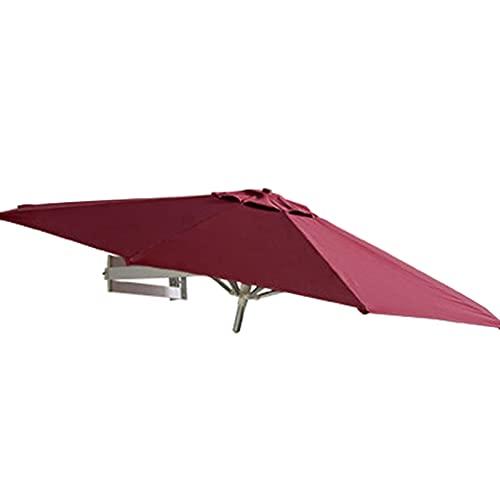 Lqdp Sombrilla Parasol en voladizo de 2,2 m para balcón Exterior, toldo Grande con Ajuste de inclinación Exterior, protección Solar, Parasol de Sombra al Aire Libre
