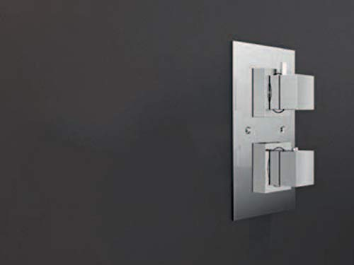Jacuzzi Caleidos mezclador termostatico para ducha con desviador 170000630-2 Salidas