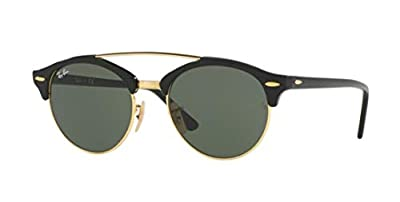 Ray-Ban RB4346 CLUBROUND DOUBLE BRIDGE Unisex Sunglasses