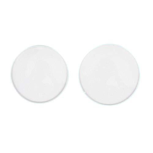 Cristal de reloj de doble cúpula para lente de reloj y pieza de reloj, pieza de repuesto de cristal de reloj de doble cúpula cóncava (30 + 32)