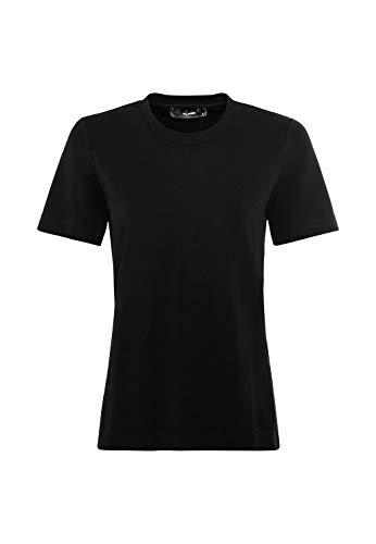 HALLHUBER T-Shirt aus Interlock-Jersey gerade geschnitten schwarz, M