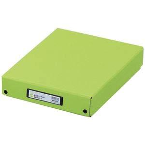 (まとめ) LIHITLAB デスクトレー G8300-6 黄緑【×10セット】