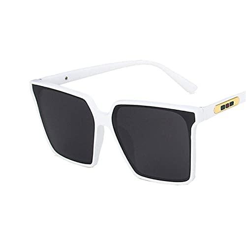 Lsdnlx Gafas de Sol,Gafas de Sol cuadradas de Gran tamaño de Lujo para DamasAnti UV Gafas de Sol Protección UV400
