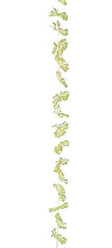 Guirlande fleurie à suspendre Oeillets jaunes 2 m Ø 8 cm décoration fêtes à thème