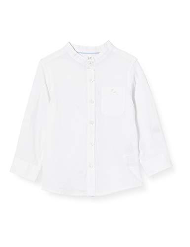ZIPPY Baby-Jungen Camisa de bebé niño SS20 Hemd, weiß, 18-24 Monate