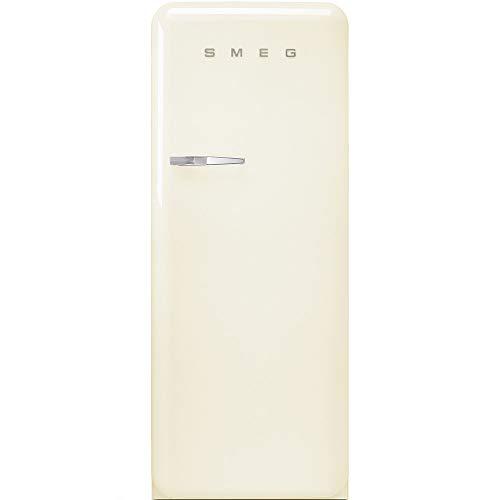 SMEG FAB28RCR3 - Frigorifero Monoporta con Congelatore SMEG Estetica Anni  50 Ventilato 270 Lt panna Apertura a destra Classe A+++