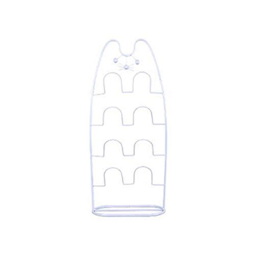 Artículos para el hogar, Zapatero Organizador Zapatos de interior Baño resbaladizo Simple Hierro Zapatero Puerta Zapatillas Estante Lindas Zapatillas Gancho Estante de almacenamiento (Color: 1 paquet