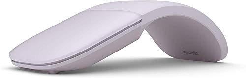 マイクロソフト マウス Bluetooth対応/薄型/小型 Arc Mouse Lilac
