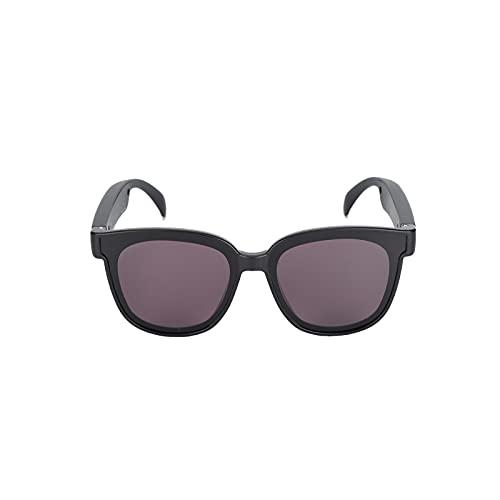 Gafas de Sol de Audio, Gafas de Sol Bluetooth con Audio Inteligente(Redondo)