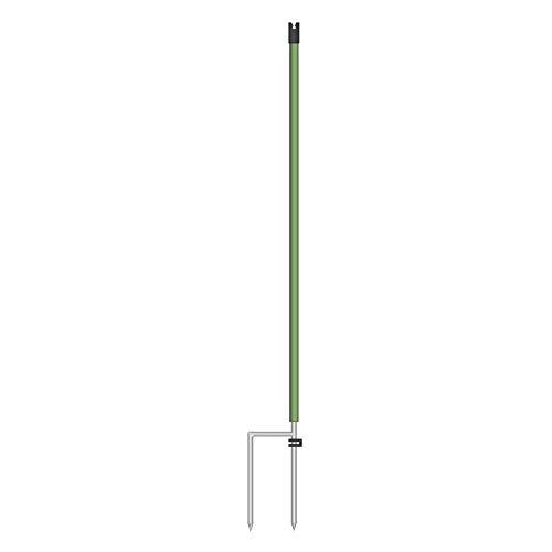 Kerbl Ersatzpfahl für 65cm,Kleintier/Wildschutznetz, 2 Spitzen Weidezaun