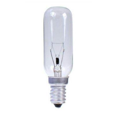 LEUCI. Bombilla incandescente tubular clara 230v 40w e14. 400 Lumen. Dimensiones: 80 X 26mm.