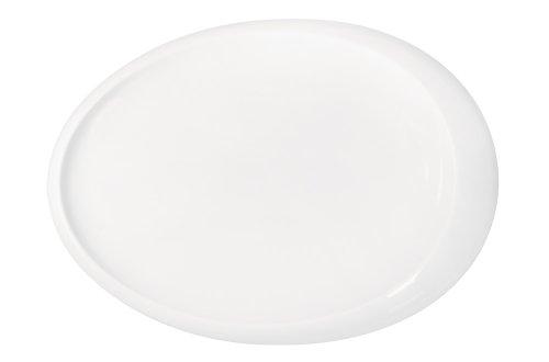 Kahla - Porcelaine pour les Sens 363312A90036C Tao Plateau Ovale Blanc 30 cm