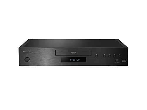 Panasonic DP-UB9000 Lettore Blu-Ray Ultra HD 4K PRO HDR, Processore HCX, Twin HDMI, HDR10+, HLG, Dolby Atmos, Certificazione THX, Surround 7.1, Wireless LAN Built-In, Internet Apps, Nero
