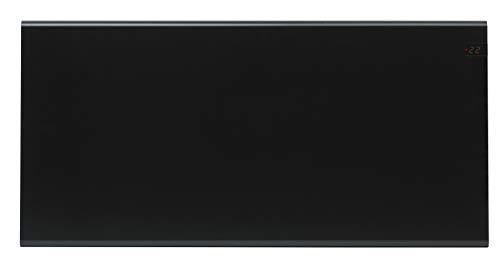 ADAX Neo NP - Radiador eléctrico Moderno, Altura 370mm, 2000W   Anticongelante   KDT Negro   IP20C