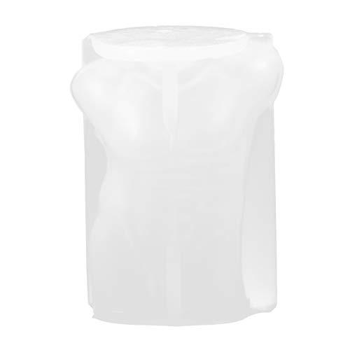 Artibetter Forma del Corpo degli Uomini Stampo Maschio Corpo Nudo Stampo in Silicone 3D Corpo Maschile Statua Stand Stampi in Resina per Candela Epossidica Making Style 3