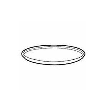 シャープ オーブンレンジ用丸皿(セラミック製)(3502930142)[適合機種]RE-10BL4 RE-14BL2 RE-15V5-JBほか