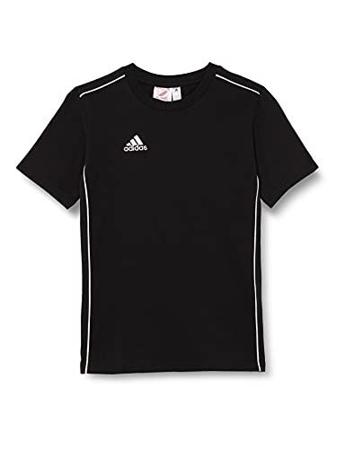 adidas FS3249 CORE18 Tee Y T-Shirt Unisex-Child Black 1314