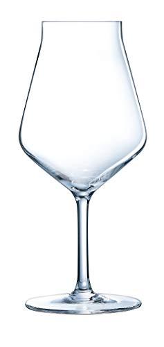 Chef & Sommelier ARC N8281 Beer Premium Biertulpe, Bierglas, 400ml, Krysta Kristallglas, transparent, 6 Stück