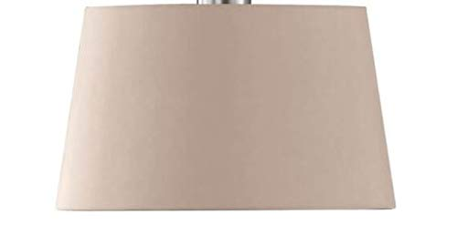Paralume in tessuto Maxi, 68853, per lampada da tavolo, lampada a sospensione, paralume di ricambio, colore: marrone / cappuccino