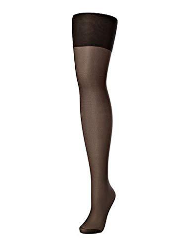 Charnos Women's 24/7 15 Denier Stockings 2 Pair Pack ,Black (Barely Black 103) ,S