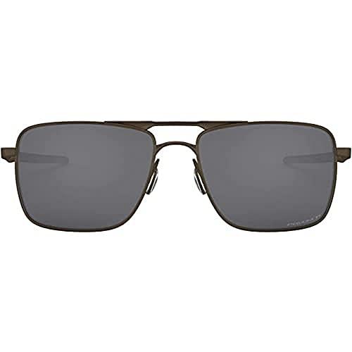 Oakley Gauge 6 Oo6038 603806 Polarizada 57 Mm Gafas de Sol, Pewter, 57 para Hombre
