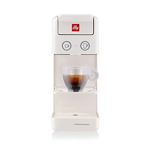 illy Caffè, Macchina da Caffè a Capsule Iperespresso Y3.3 Bianca