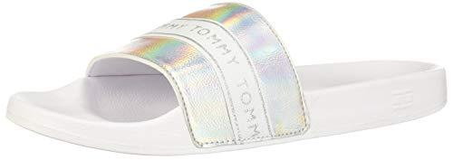 Tommy Hilfiger Shoes FW0FW04811-YBS Größe 39 EU Weiß/Silber