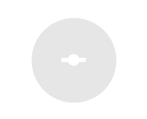Brunoplast NIVIFIX 100 Stück Schutz-Folien Unterlegscheiben Schutzplatten für Fliesen Platten Nivelliersystem zum Verlegen von Wand- und Boden-Fliesen, Verlegehilfe System aus Kunststoff