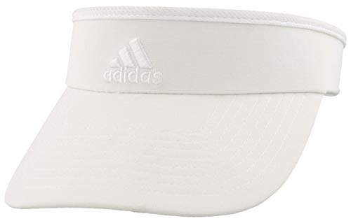 adidas Women's Match Visor, White/White, ONE...