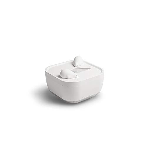 ZZYJYALG Humidificador de aire Plástico grande Capacidad Mini pequeño humidificador de escritorio retro británico con atmósfera luz 700ml pulverizador Sala de estar Evaporador Dormitorio Oficina de of