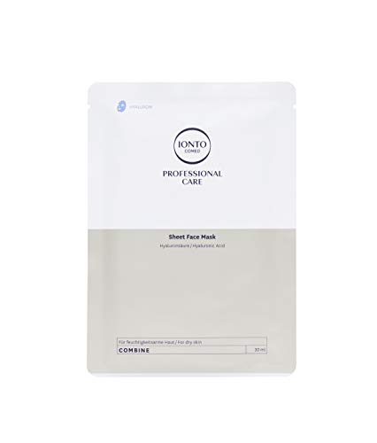 Ionto Comed Sheet Face Mask Hyaluronsäure 3 x 30 ml
